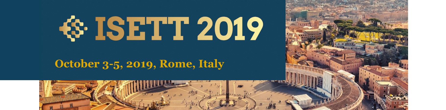 TRElab will be at ISETT 2019!