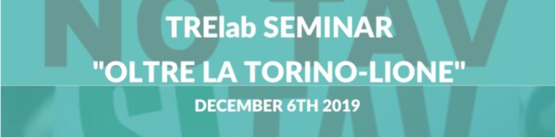 "Seminar: ""Turin-Lyon high-speed railway: cost-benefit analysis after 2019"""